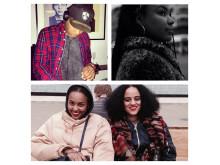Family DJ-set Noah, Fanna, Amie, Seinabo