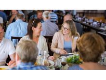 Hyggelige samtaler på LOS Energidag