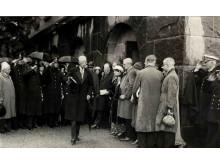 Gustaf V inviger museet