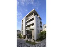 Shinjuku Vieuno Pro, showroom for pre-fabricated housing solutions in Tokyo, Japan