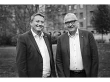 Professur i arkitektur och ekonomi på Chalmers. Stefan Bengtsson och Magnus Månsson.
