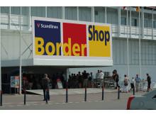 Indgang BorderShop Puttgarden