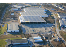 Knauf Insulation isolerade jätteterminalen åt DHL