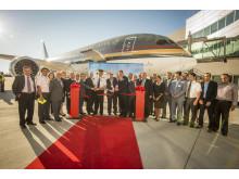 Lancering af Boeing 787 Dreamliner