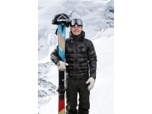 Freeski-åkaren Martin Nordqvist, Riksgränsens snowboard- och skidklubb (RISK)