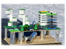 Modell Future City Ekholmsskolan