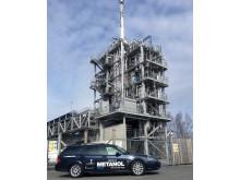 E 85 bil klarar bränsleblandning av skogsrester