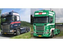 To nye Scania til L. M. Transport i Ans