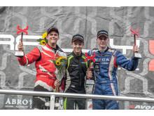 Simon Olofsson kammade hem segern i Supercar lites