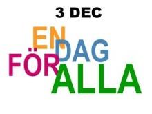 3 december En dag för alla