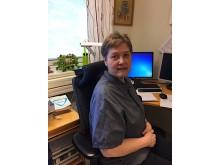 Marie Larson, distriktsköterska på Viksäng/Irsta