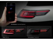 Fremtidens lys - interaktive baglygter
