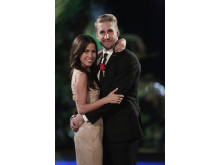 Bachelorette-finalen: Kaitlyn och Shawn.