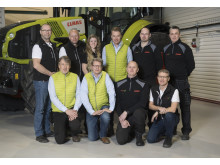 Swedish Agro och Swedish Agro Machinerys personal i Enköping.