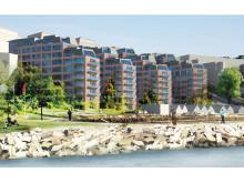 161028 SE Nacka Strand - bild av BSK Arkitekter