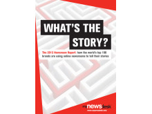 What's the Story: The 2013 Newsroom Report by Mynewsdesk