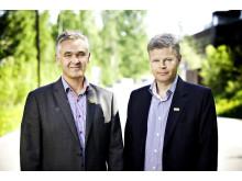 Hallvard Nerbøvik og Trygve Simonsen