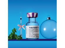 Poliovaccin, 72 kr för 60 doser. Foto: Pelle Bergström