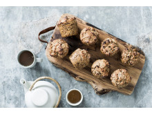 Fuldkornsrugbrødsboller