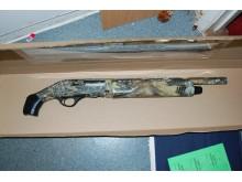Firearm found at Omogun-Eichie's address