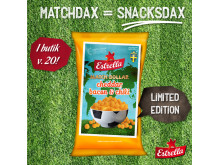 Estrella LTD Matchbollar 2018 Cheddar Bacon och Chili Kvadrat