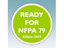 Overspændingsbeskyttelse er obligatorisk ifølge NFPA 79 (Edition 2018)