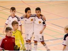 Fußballtalente aus Bayern und Europa: In der Gruppe B treffen der 1. FC Nürnberg und der FC Basel (Schweiz) aufeinander.