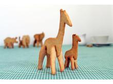 3D pepparkaksform - Giraffen