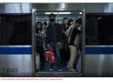 Copyright FutureofCities, Adam Dean, Panos Pictures, China 2014, Beijing Subway_01