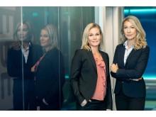 VD Hanna Neidenmark och Expansionschef Mikaela Grännby
