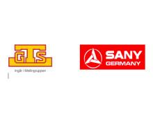 GTS generalagent för SANY Germany i Sverige