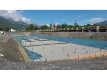 Forurenet grundvand renses med damp