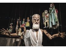 Gud, marionett ur Fanny och Alexander