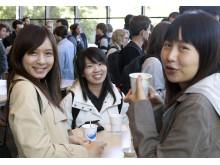 Ny studenter på Chalmers höstterminen 2014, från Welcome Day