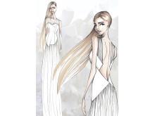 Skisse fra Elin Tveitan  Finalist CostumeAwards