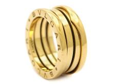 Julklappsauktionen 19 december, Nr: 70, BVLGARI, ring, B-ZERO1, 18K guld