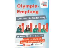Olympia-Empfang 2018