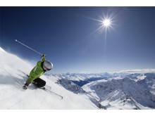 Hytte på fjellet_alpinbakker rett utenfor døren