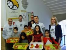 """AccorHotels aus Nürnberg, Erlangen und Fürth unterstützen """"Gesundes Schulfrühstück"""""""