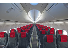Norwegian's first aircraft with Boeing's Sky Interior