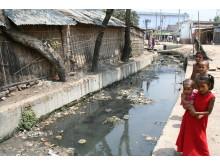 Toalettavløp i slummen