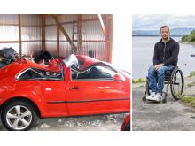 Jonny Grimestad, DSFL, trafikkulykke