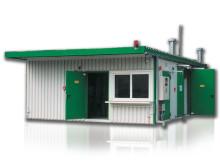 Brandklassad miljöcontainer som ÅVC