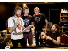 Mastodon i studion 2008 credit Jimmy Hubbard