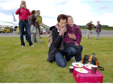 Picknick på plattan