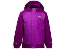 Knatten Kids Jacket - Heather Purple/Dark Heather