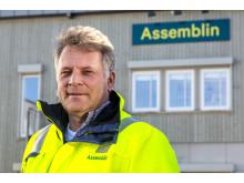 Avdelingssjef Gunnar Christian Alvin i Assemblin Rør Prosjekt Sarpsborg.