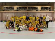 Landslaget och Visby IBK Ilex