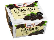 Yoplait l'Amour med bjørnebær