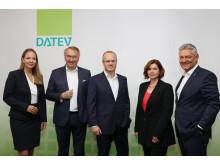 Gesamtvorstand der DATEV eG Jahrespressekonferenz 2018